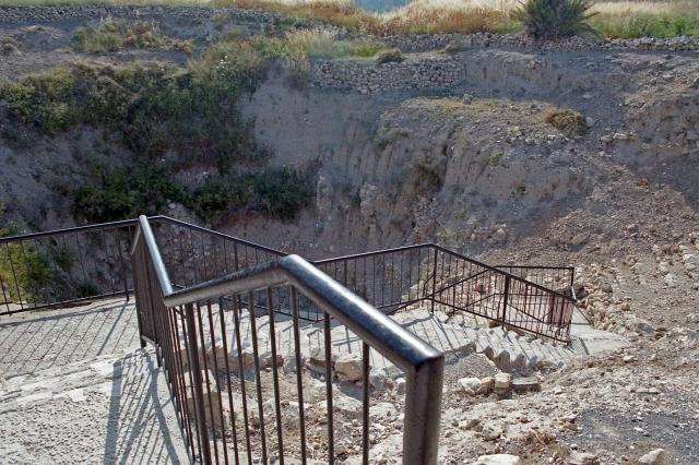 Megiddo water steps