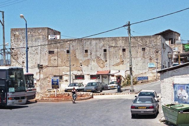 The Police Station at Safed (Zefat), Israel